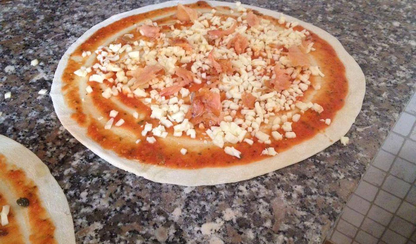 Pizzeria del Camping Cala d'Ostia