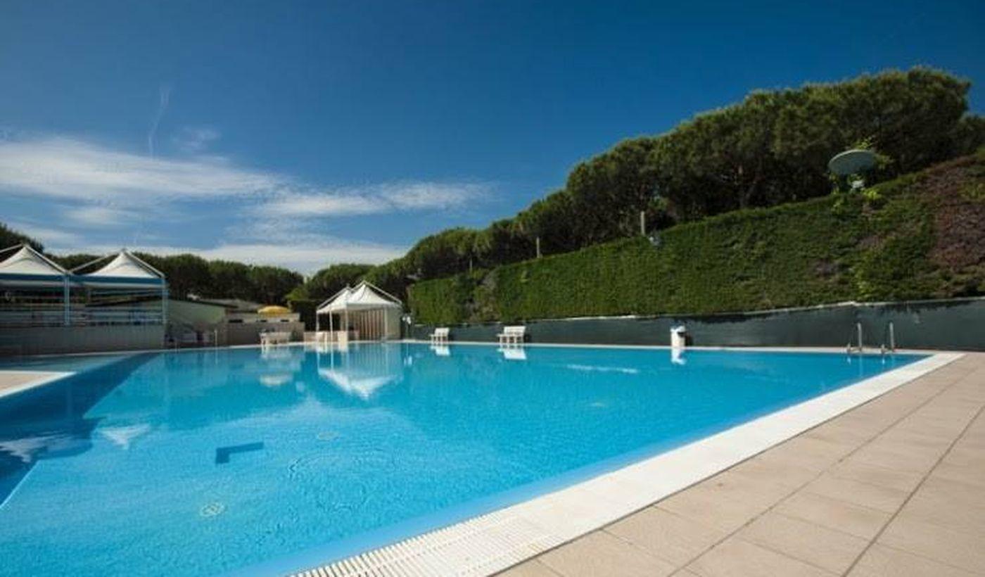 Camping Village mit Pool in Comacchio, Emilia Romagna