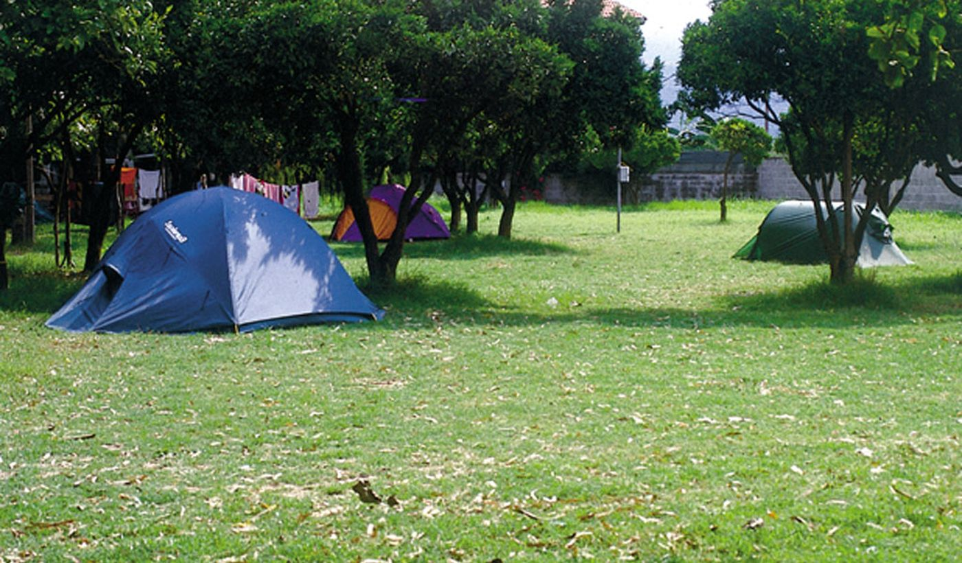 Camping a Mascali, Sicilia