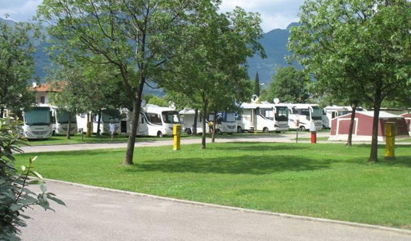 Camping a Riva del Garda, Trentino Alto Adige