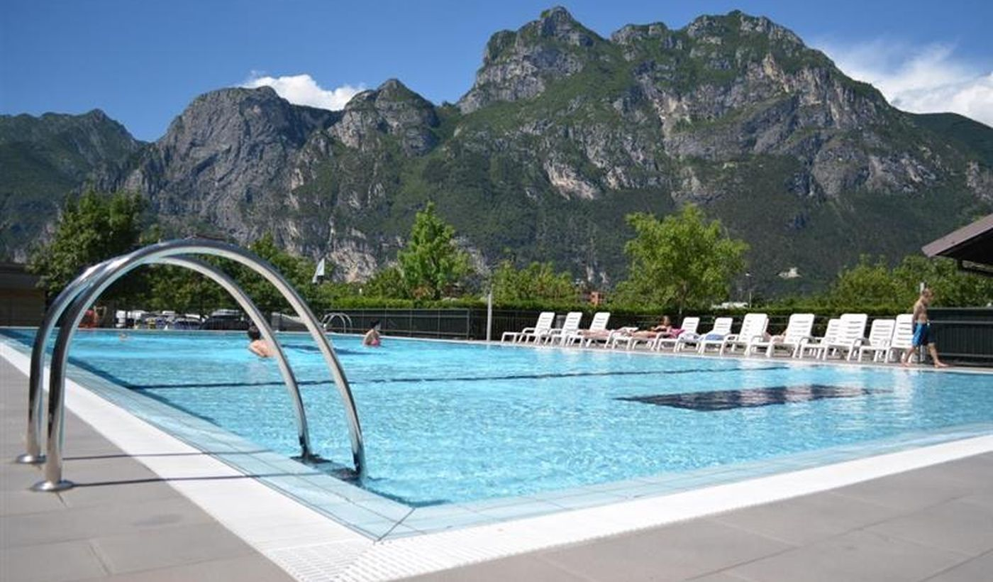 Camping with swimming pool in Trentino Alto Adige