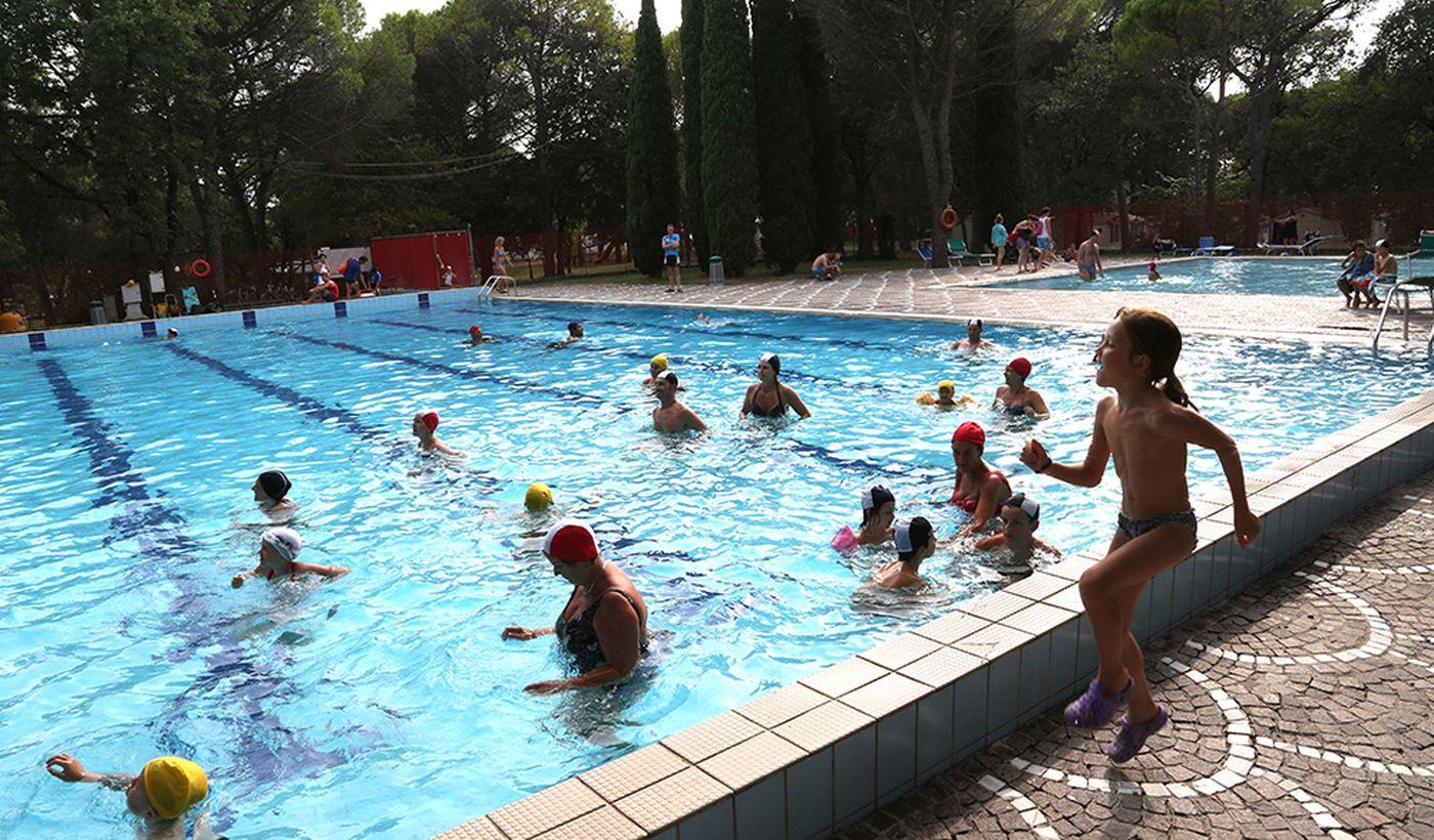Camping Village mit Pool in Friaul Julisch Venetien