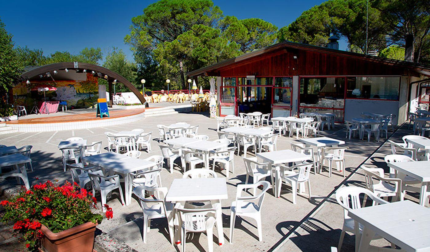Feriendord mit Restaurant in Aquileia, Udine