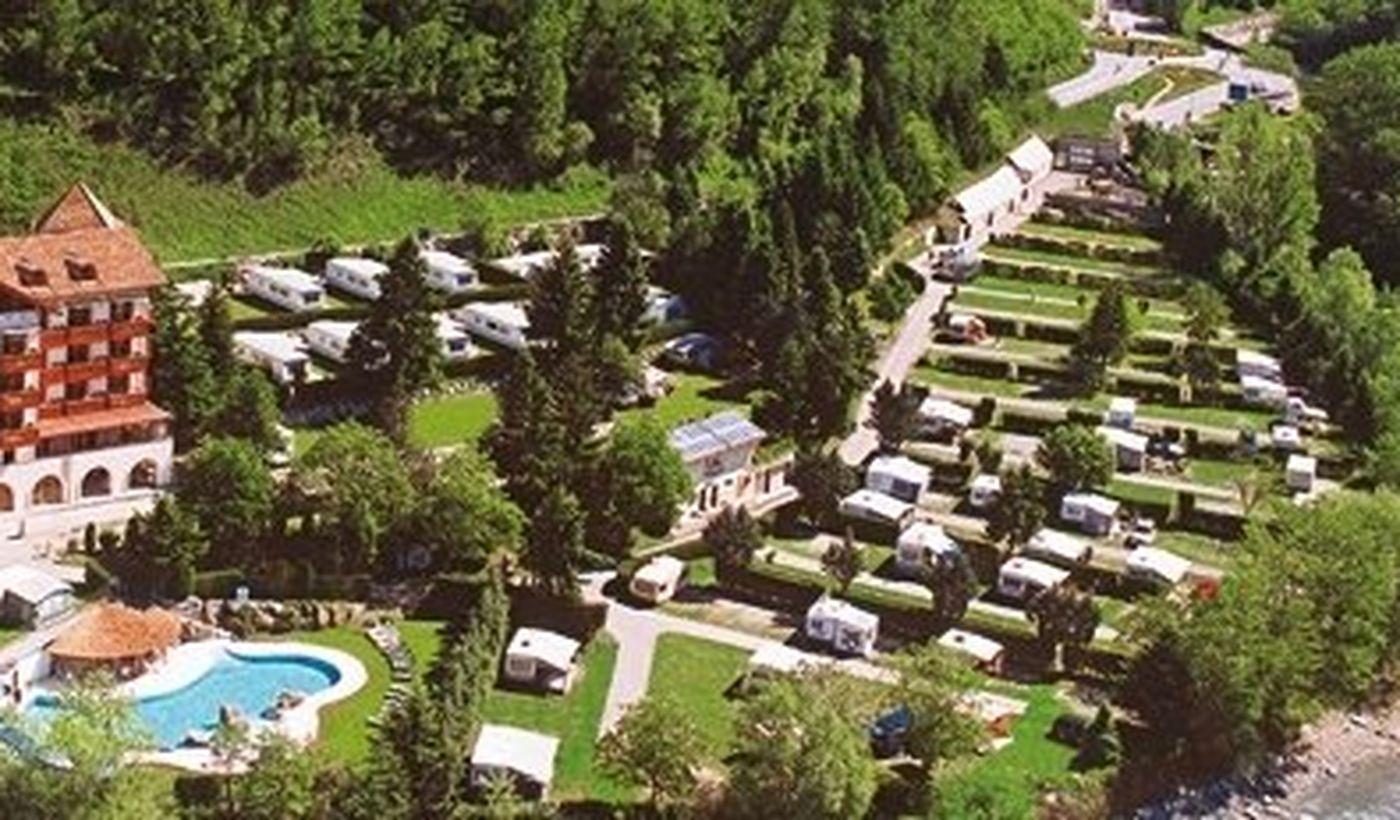 Campingplatz in der Nähe von Meran, Bozen
