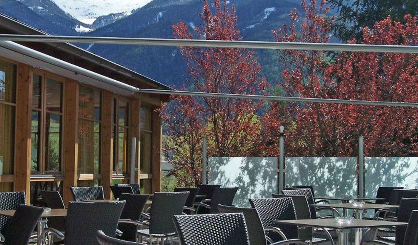 Campingplatz in Latsch, Trentino-Südtirol