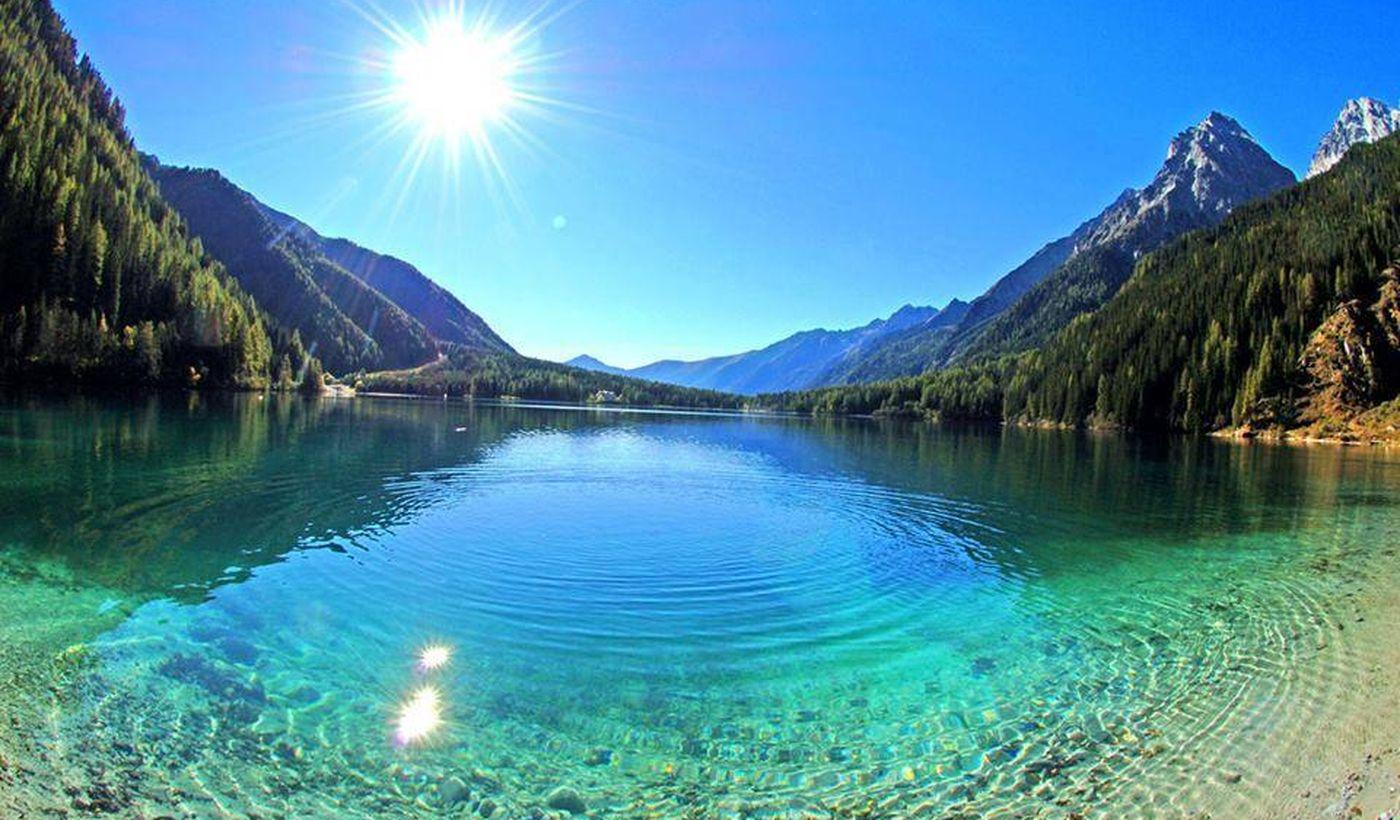 Il Lago di Anterselva in Alto Adige