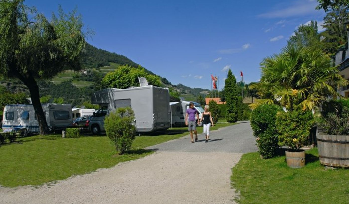 Camping in Klausen, Bozen