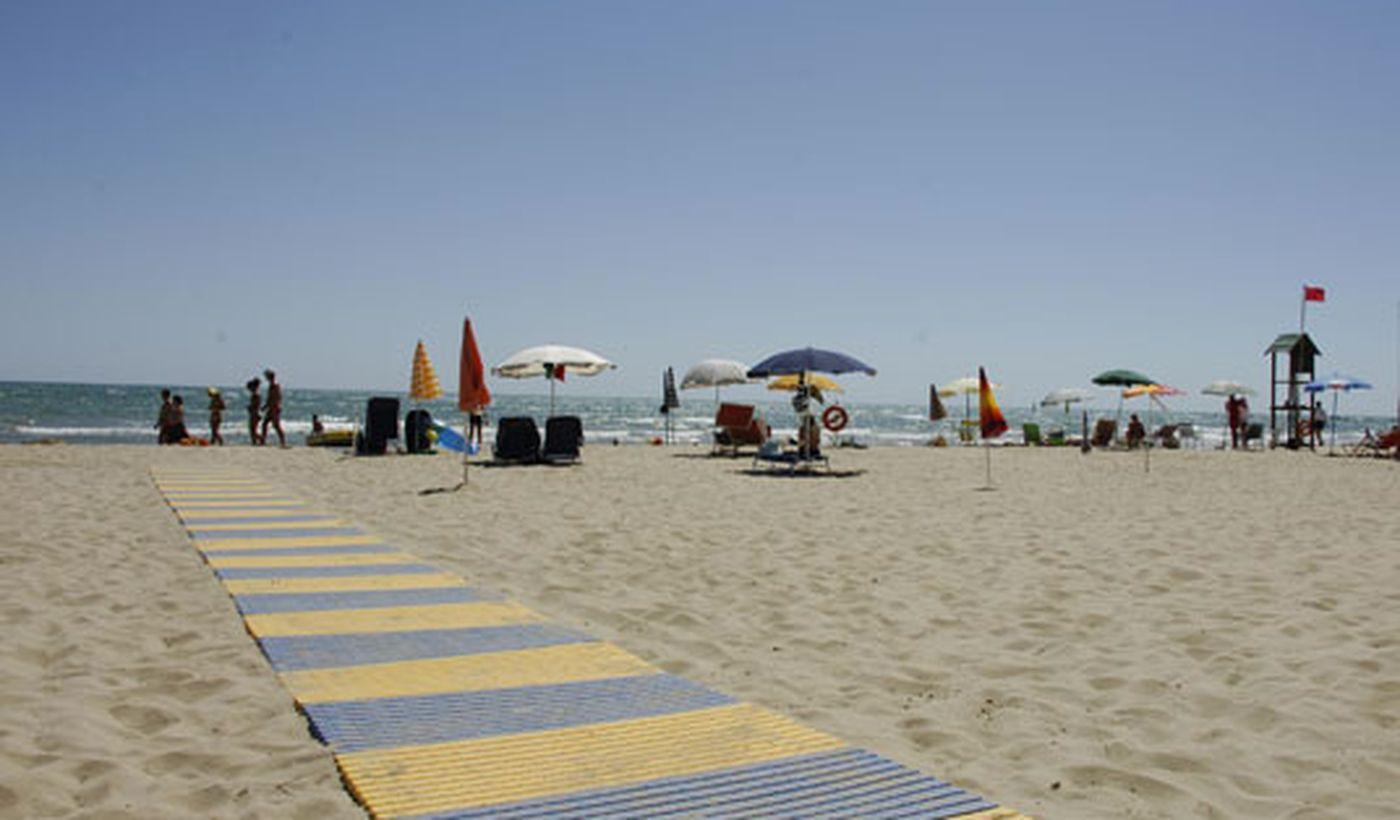 La Spiaggia Privata del Villaggio Camping Gilda
