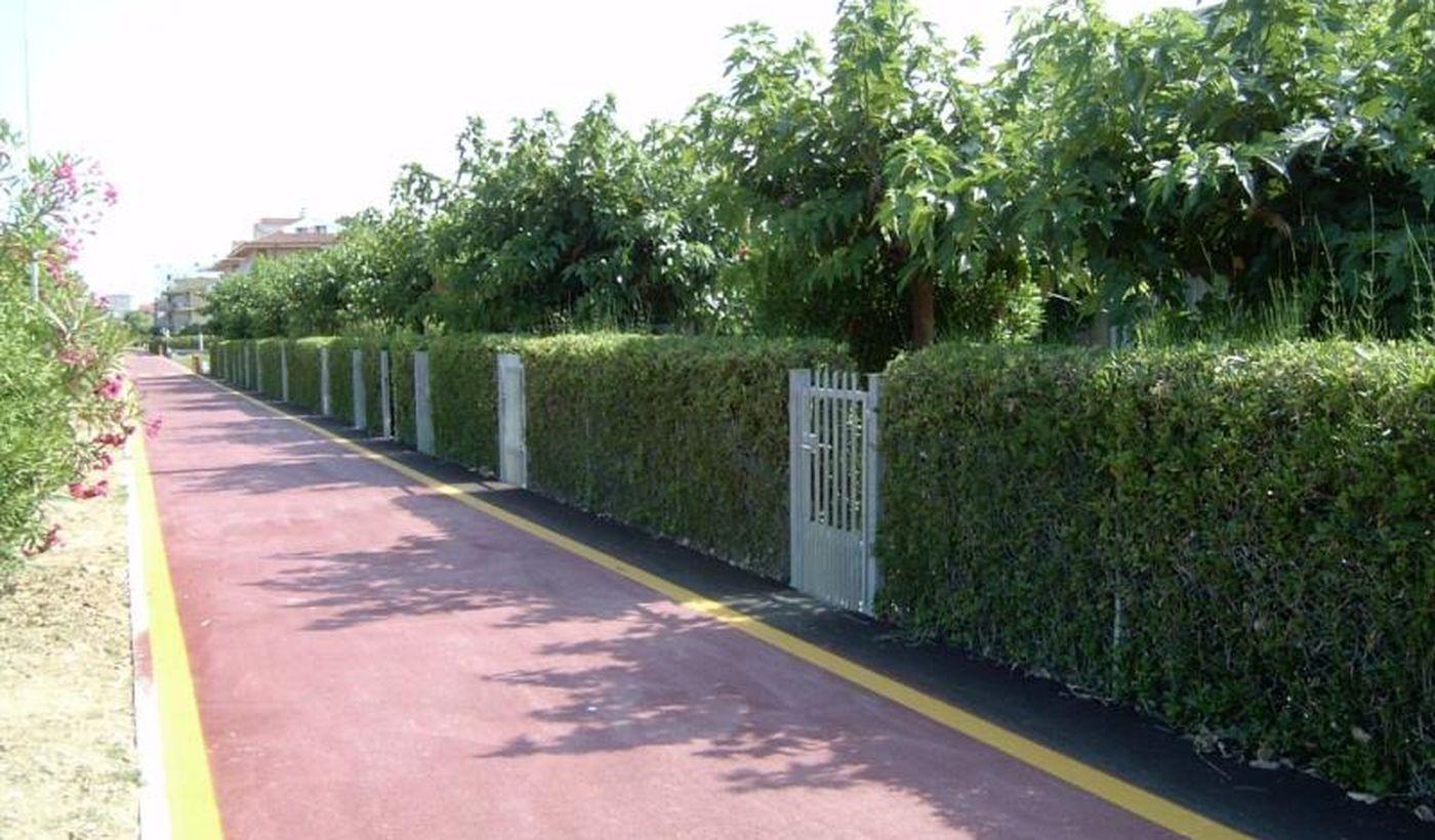 L'ingresso dei Bungalow