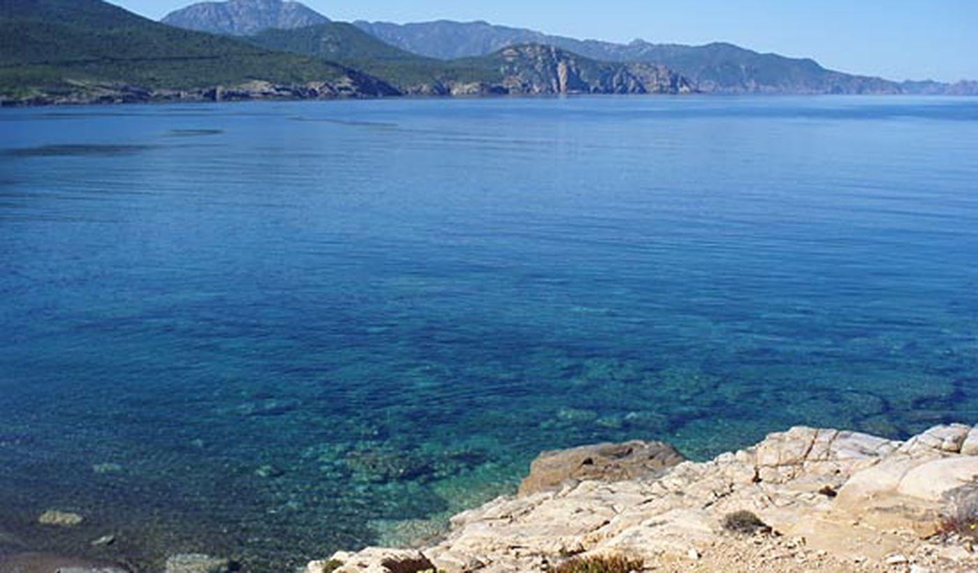 La mer de la Corse