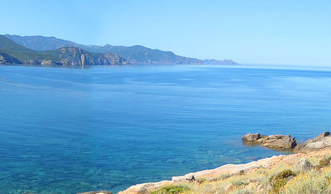 Plage en Corse