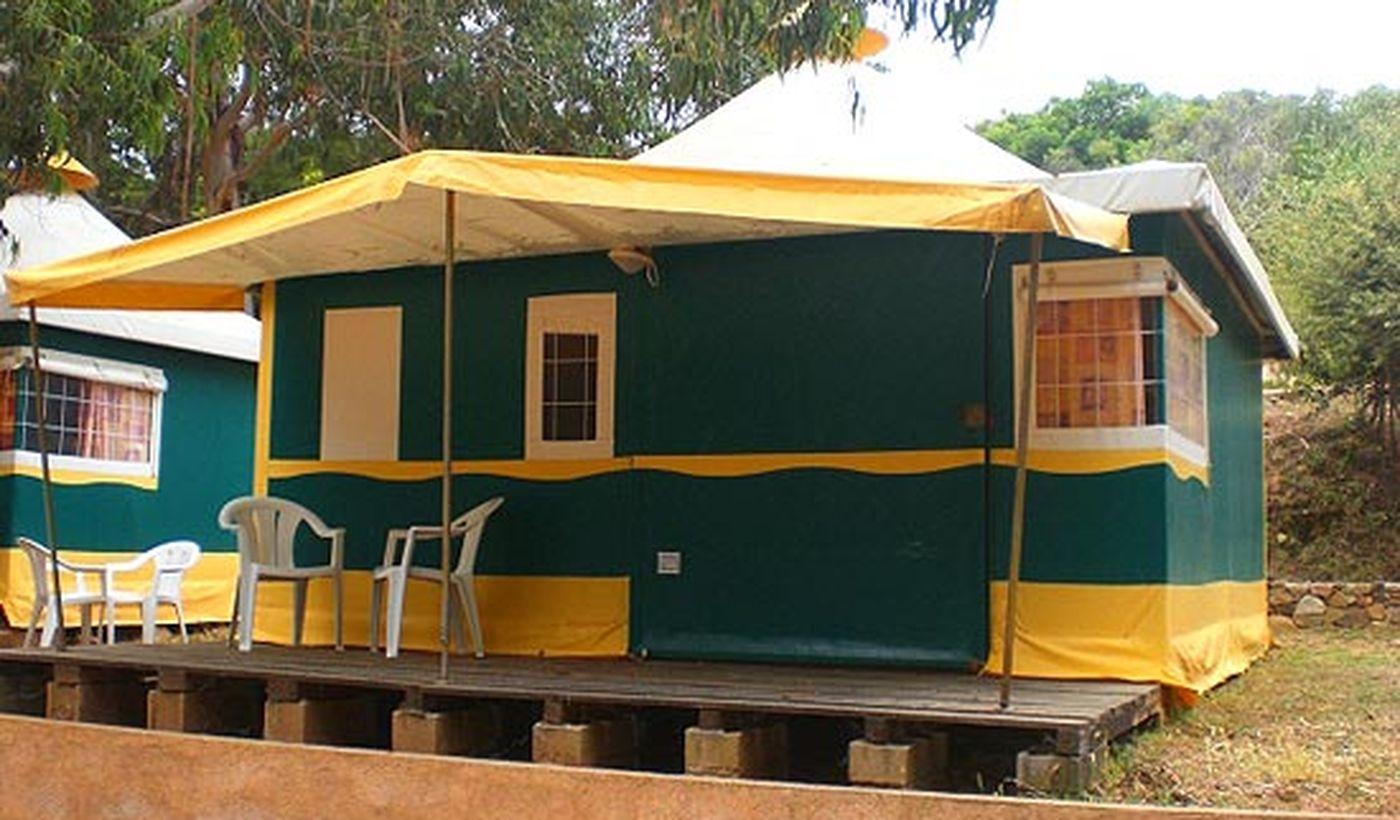 Pagan Bungalow-Tente