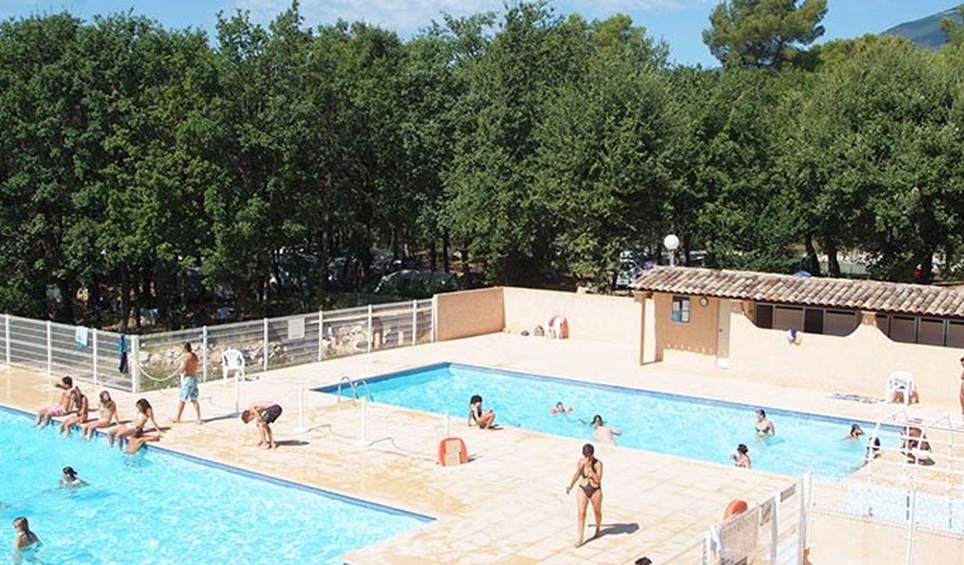 La piscine du Domaine de la Bergerie
