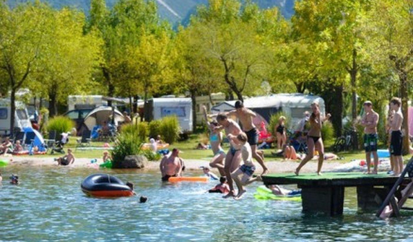 Camping sul Lago di Levico