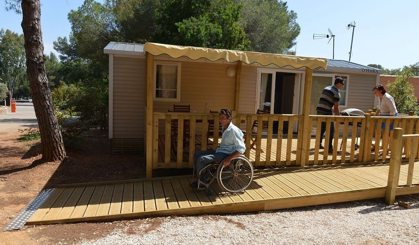 Camping accessible aux PMR, France