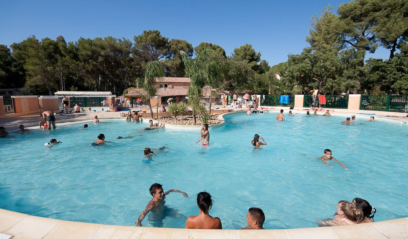 Camping avec piscine à La Londe Les Maures