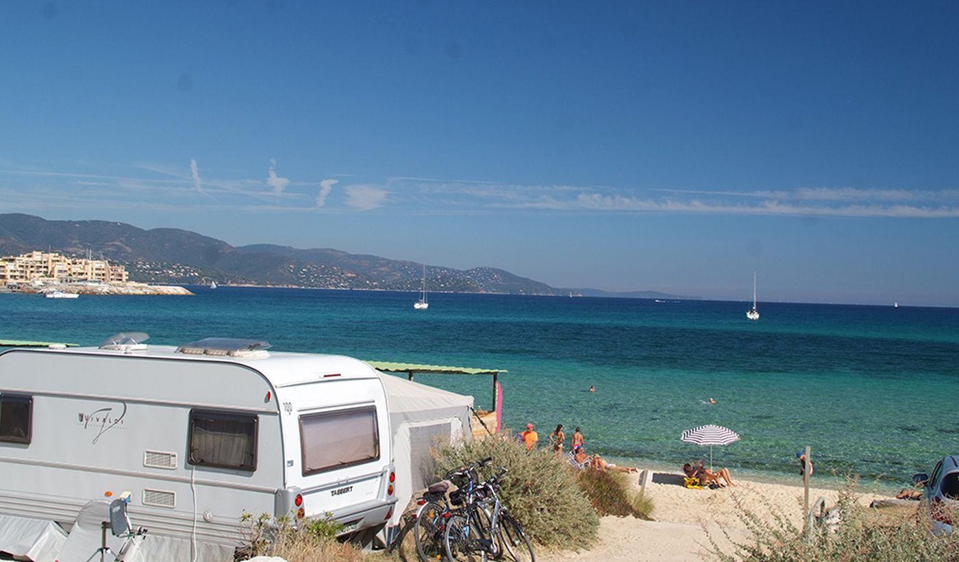Plage sur la Côte d'Azur