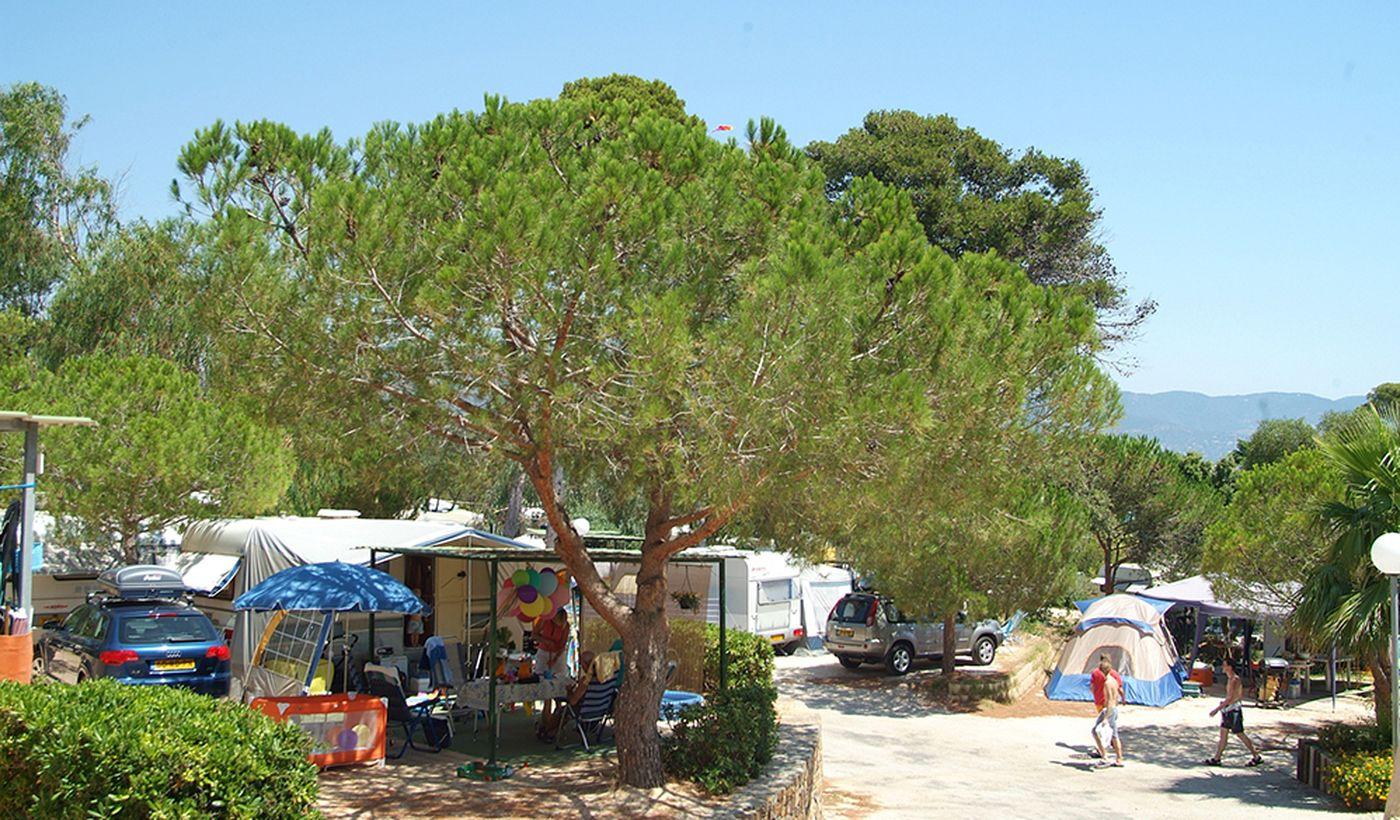 Camping à Bormes-les-Mimosas