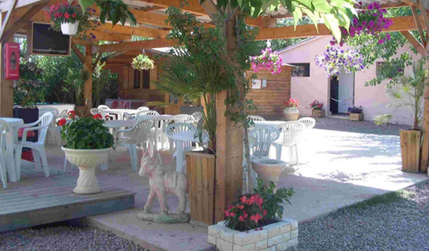 Le bar du Camping Cupulatta