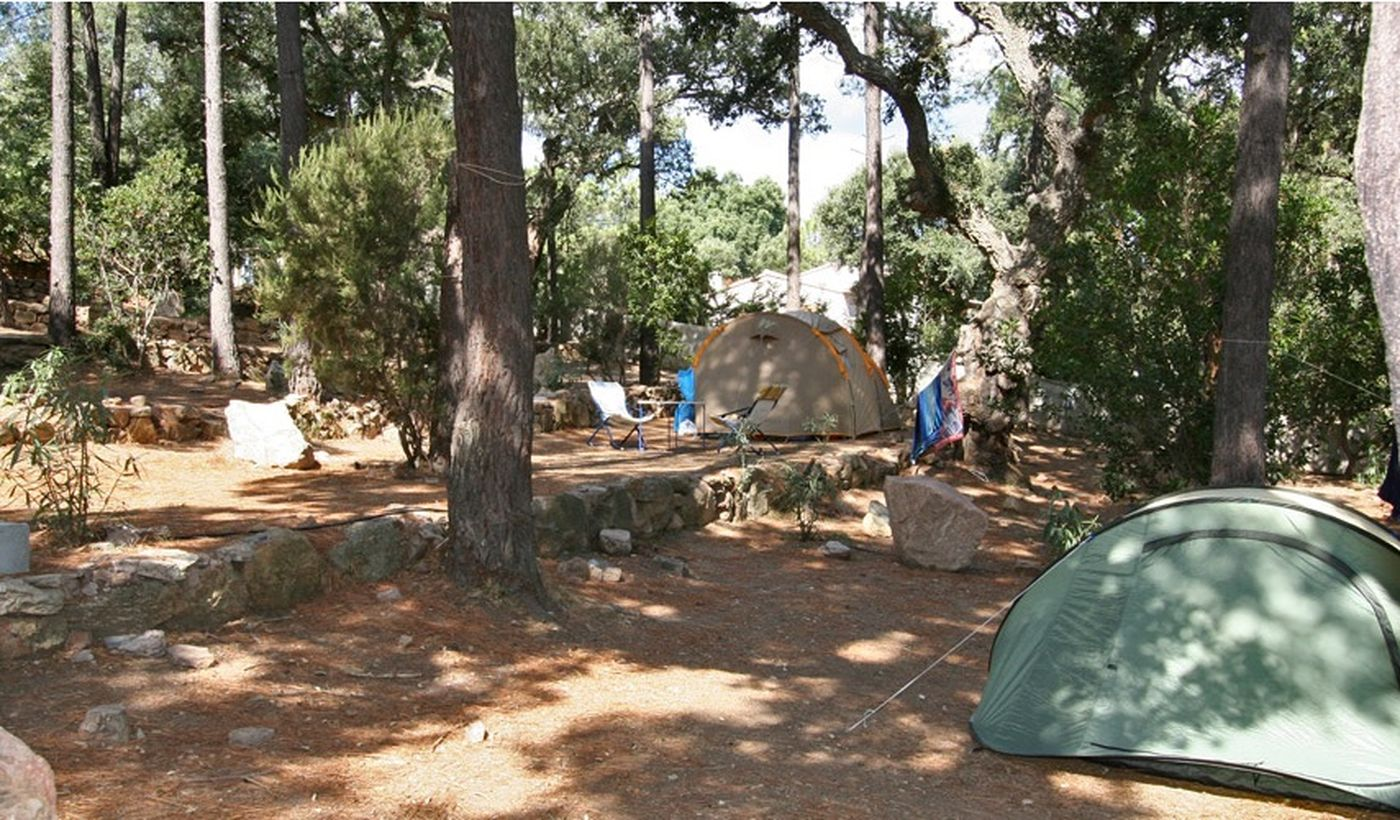 Camping à Porto Vecchio, Corse