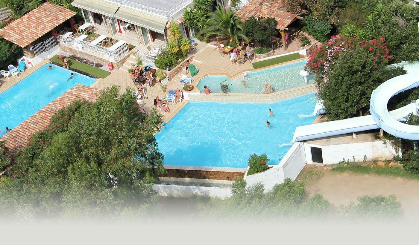 Camping avec piscines à Porto Vecchio, Corse
