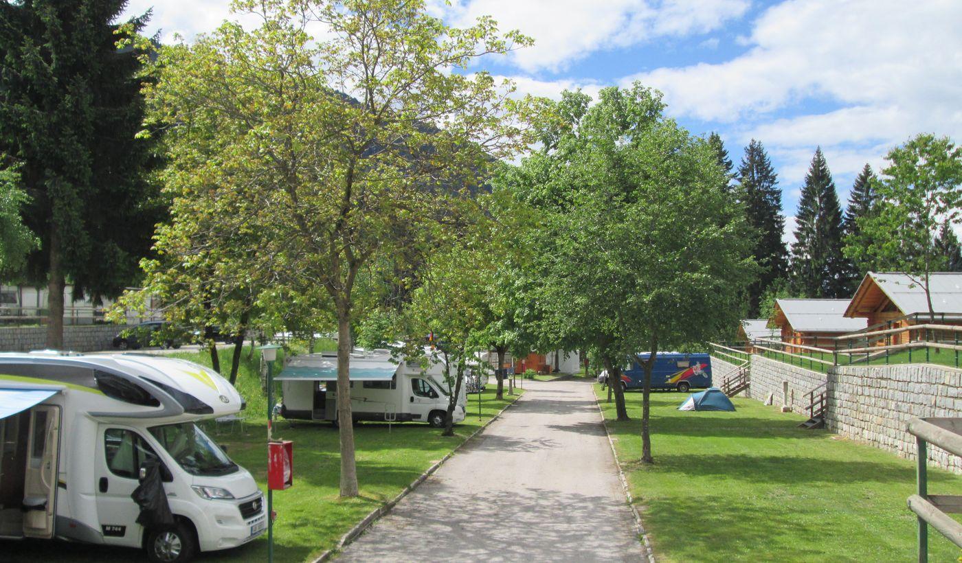 Campingplatz mit Wohnmobilservice