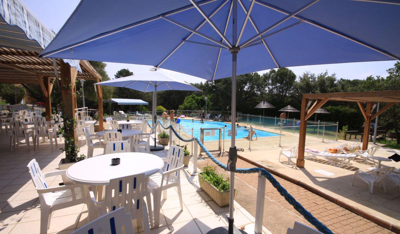 Camping Village avec piscine à Porto Vecchio