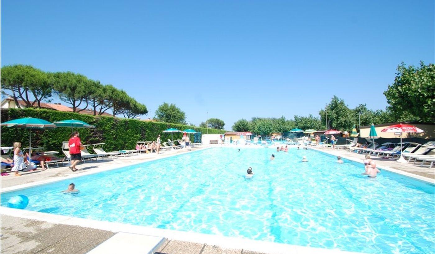 Camping Village mit Pool in Ravenna