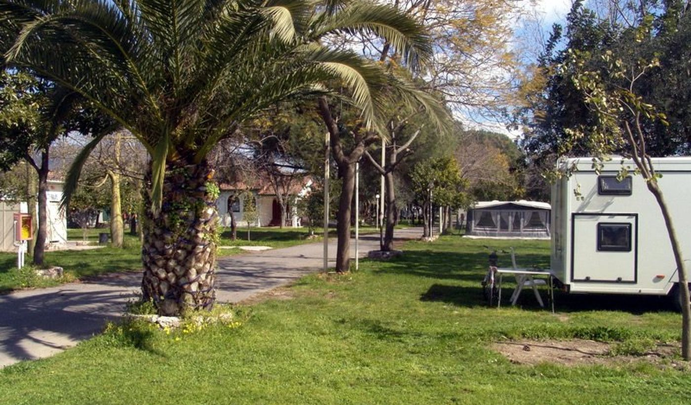 Camping in Calatabiano, Sizilien
