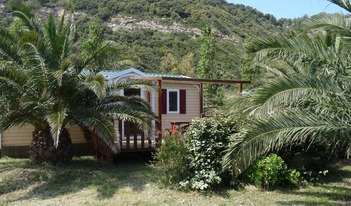 Camping Village sur la mer à Patrimonio, Haute-Corse