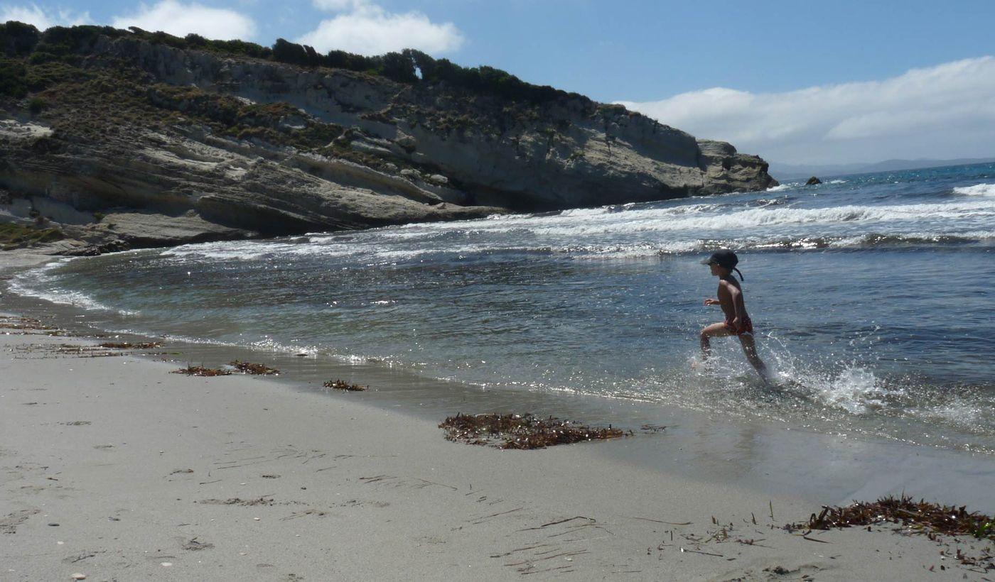 Camping sur la mer en Corse