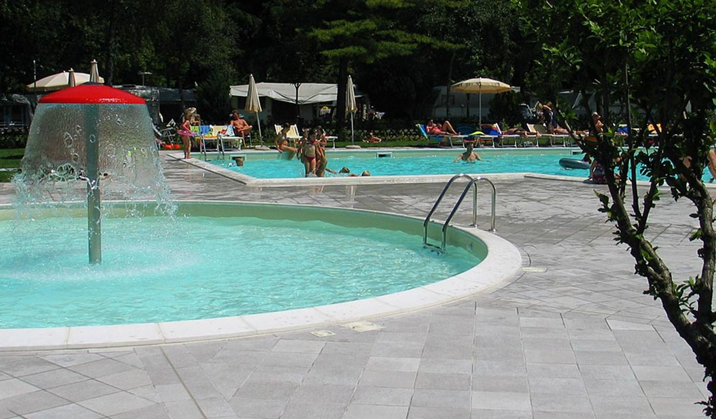 Campingplatz mit Pool in Trentino-Südtirol