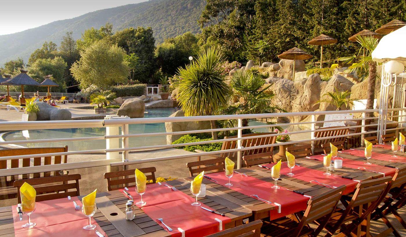 Camping avec Restaurant à Porto, Corse