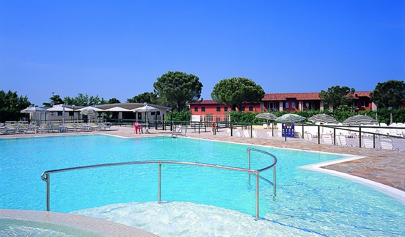 Camping Village with Pool on Lake Garda