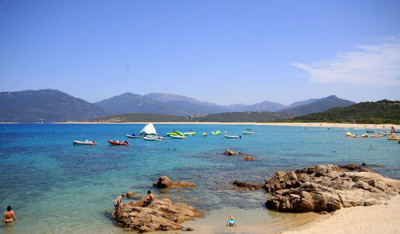 La plage de Portigliolo