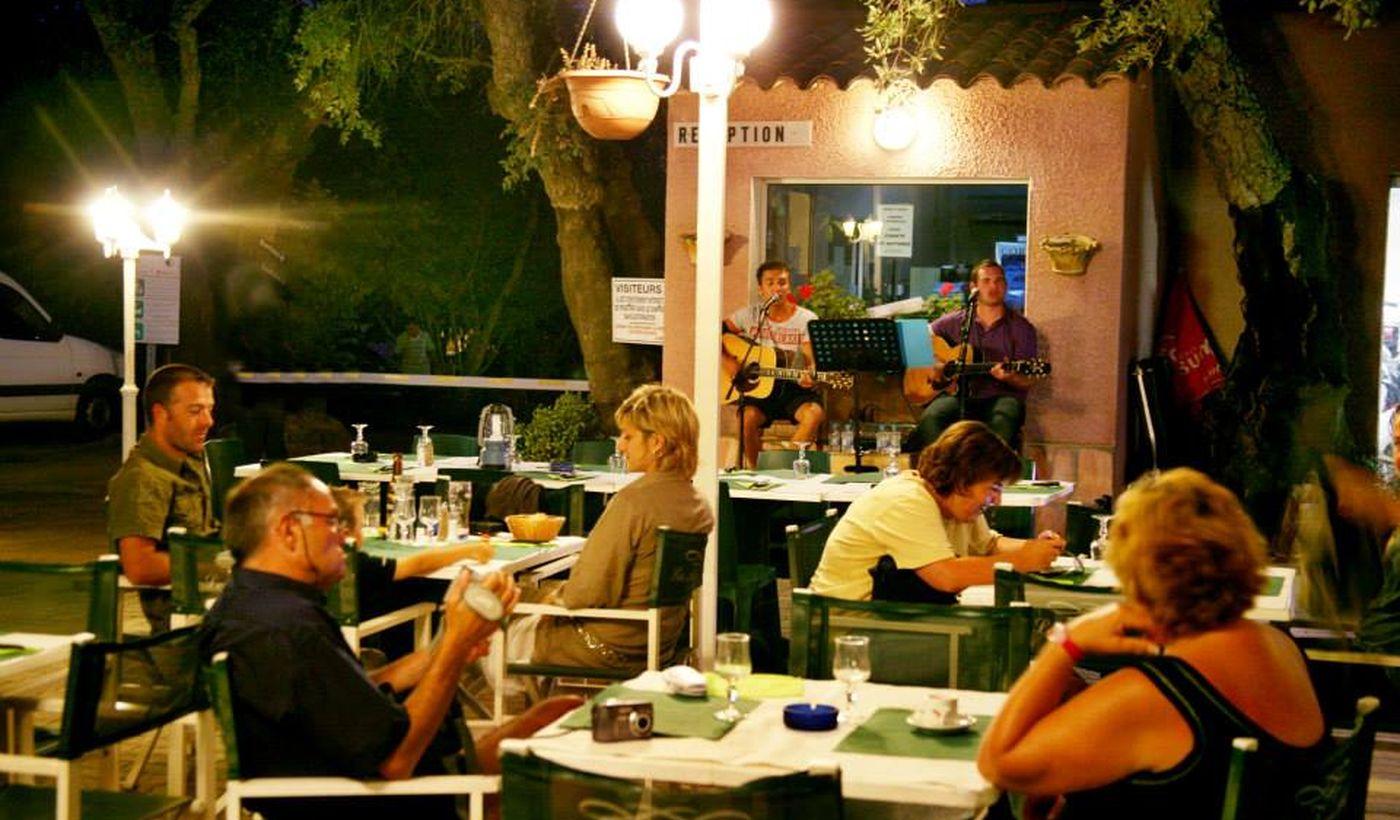 Camping avec restaurant à Porto Vecchio, Corse