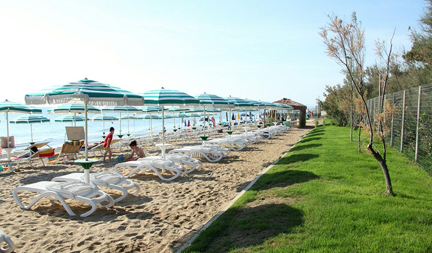 Spiaggia a Pineto, Teramo
