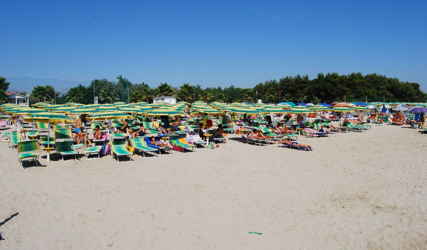 Spiaggia a Giulianova