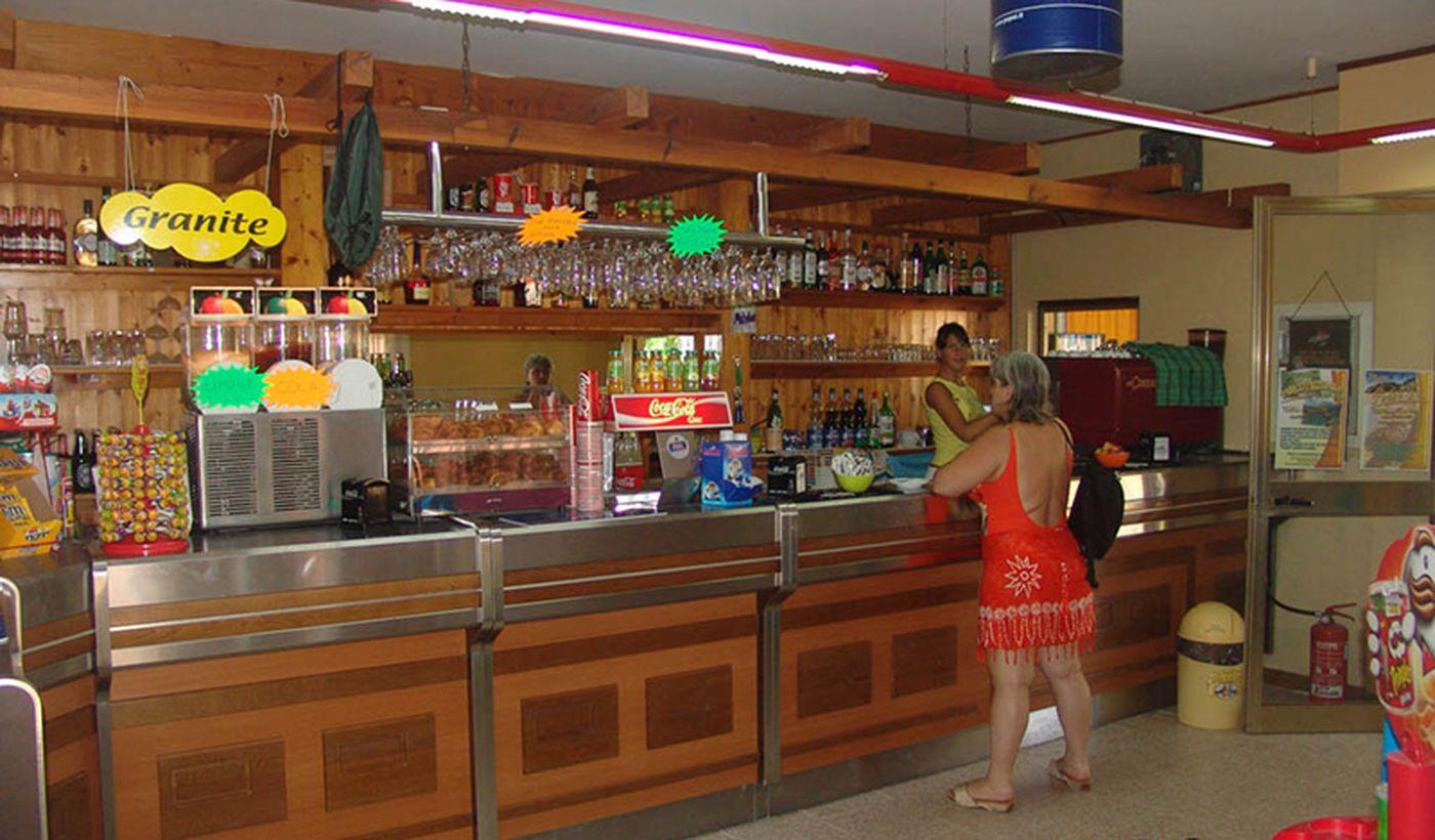 Bar nel campeggio