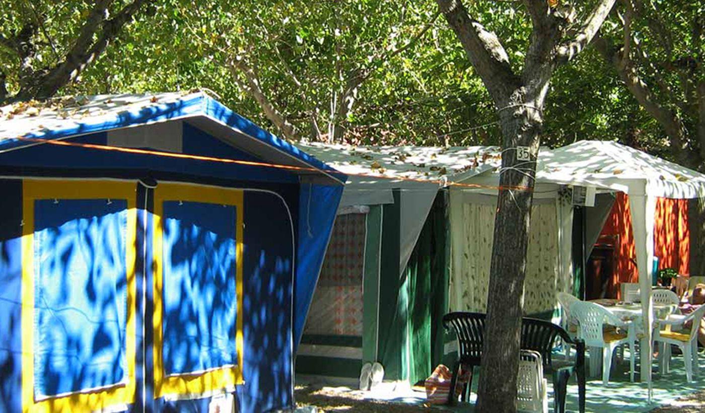 Camping in den Abruzzen
