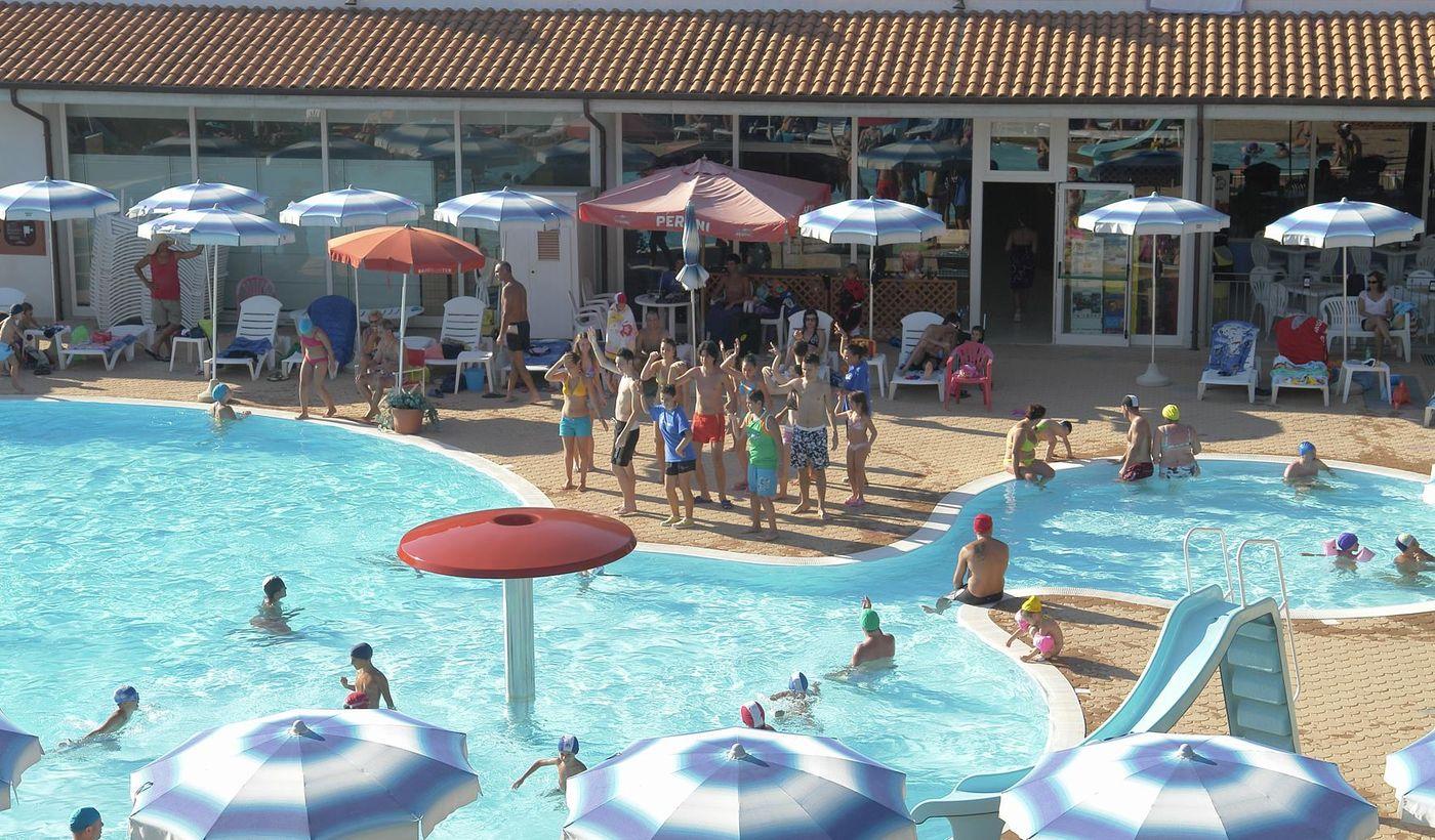 Villaggio con piscina per bambini