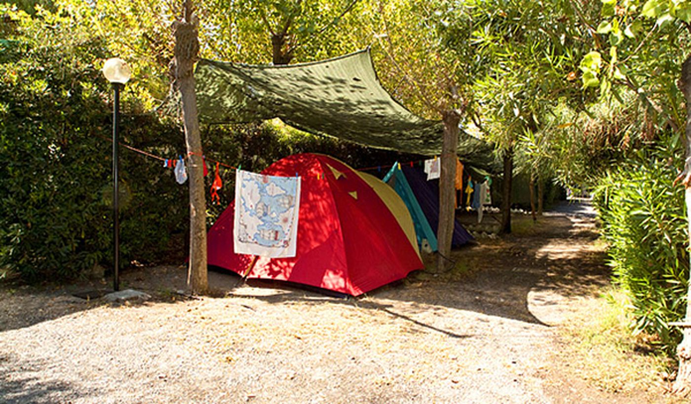 Camping in Scalea, Kalabrien