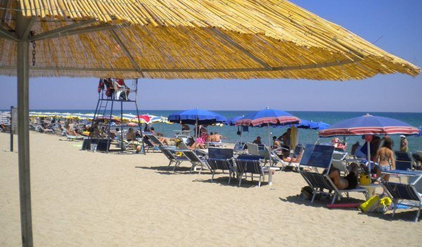 Strand in Corigliano Calabro