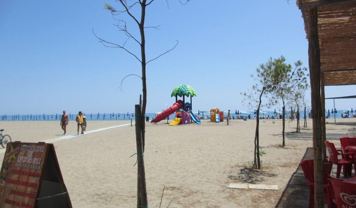 Strand in Sibari