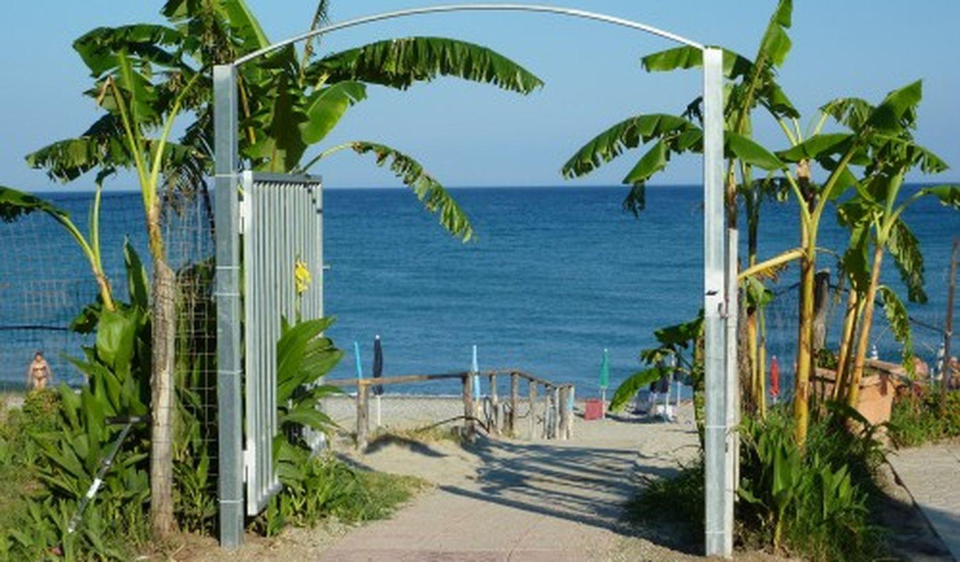 Entrata in spiaggia
