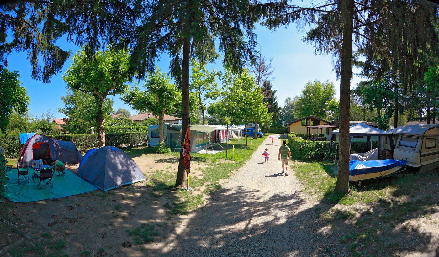 Stellplätze in unserem Camping
