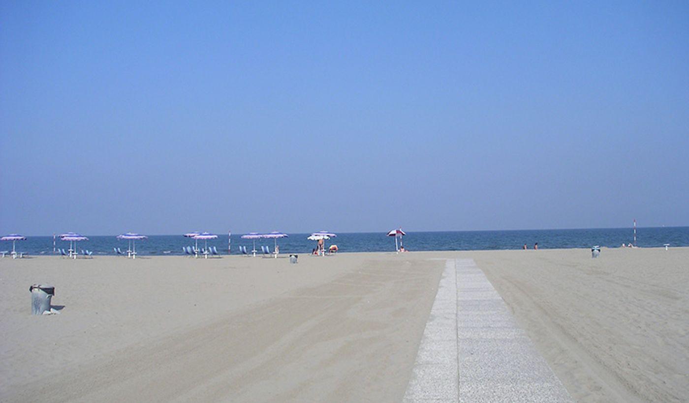 Beach in Veneto