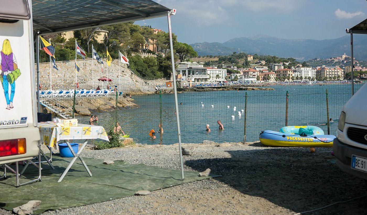 Ferienpark am Meer in Ligurien