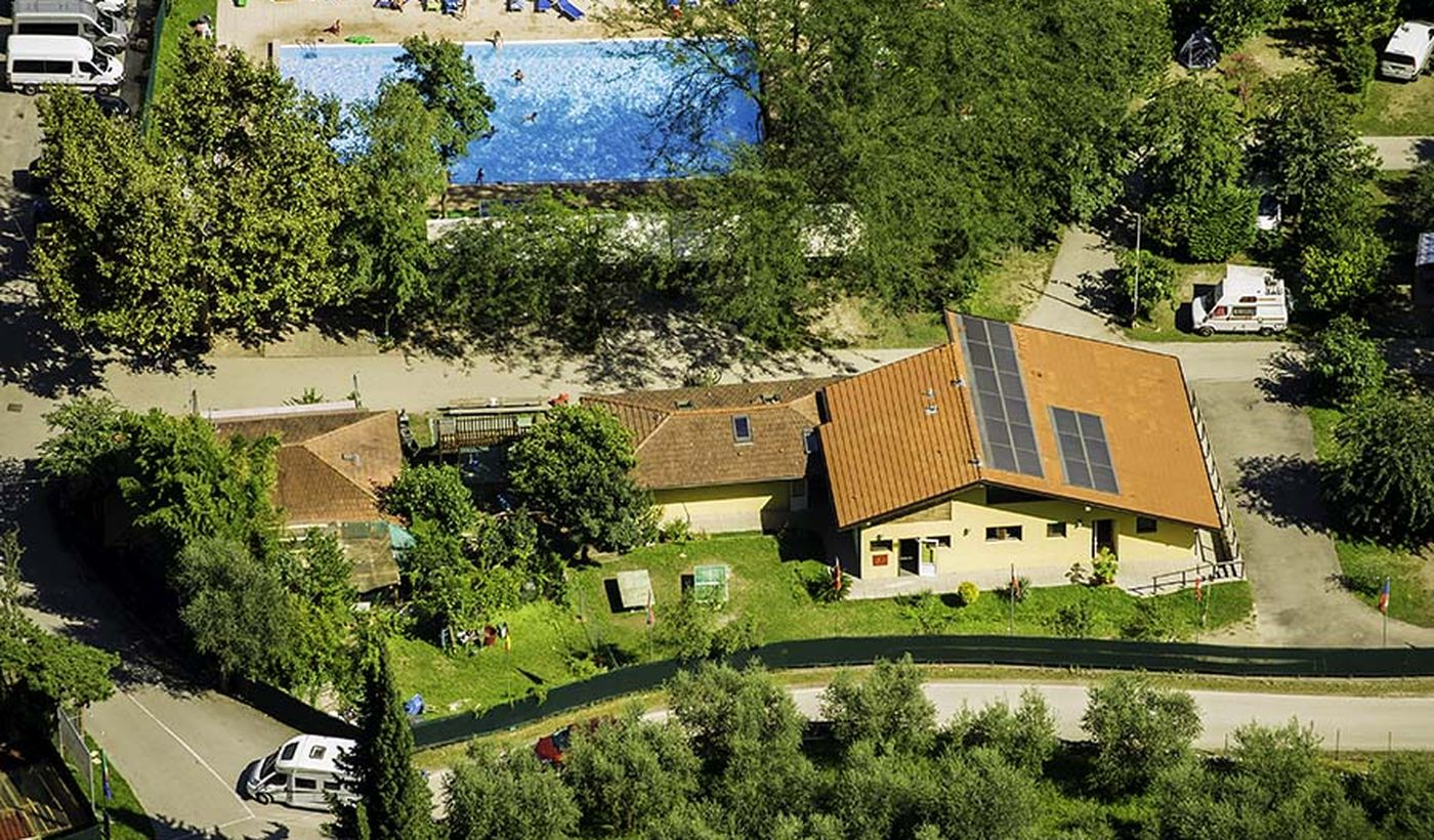 Camping with swimming pool, Trentino-Alto Adige