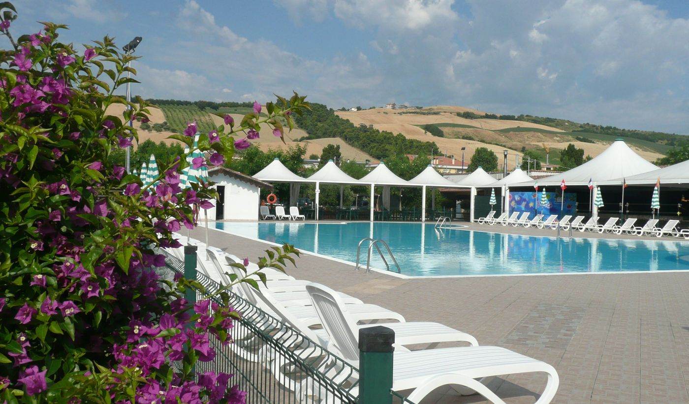 Camping Village mit Pool in Pineto, Teramo